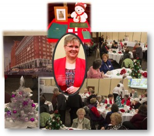 Janet Newcomer Honored at AAUW –Livonia Salute to Women Luncheon on December 12, 2015